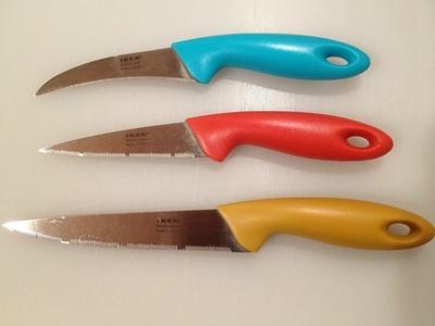(名無し)さん[2]が投稿したSLIPAD ナイフ 3本セットの写真
