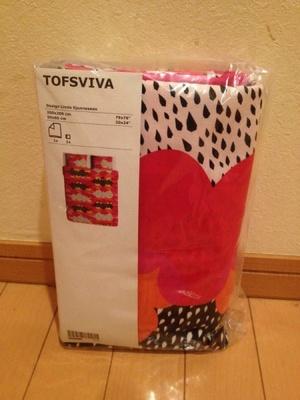 TOFSVIVA 掛け布団カバー&枕カバー