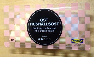 OST HUSHÅLLSOST セミハードチーズ スライス