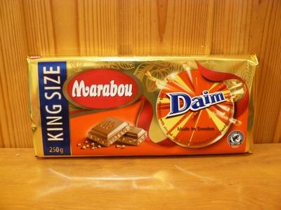 Daim ダイム Marabou チョコレート