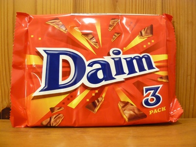 Daim ダイム アーモンド入りミルクチョコレート (アーモンド3.2%)