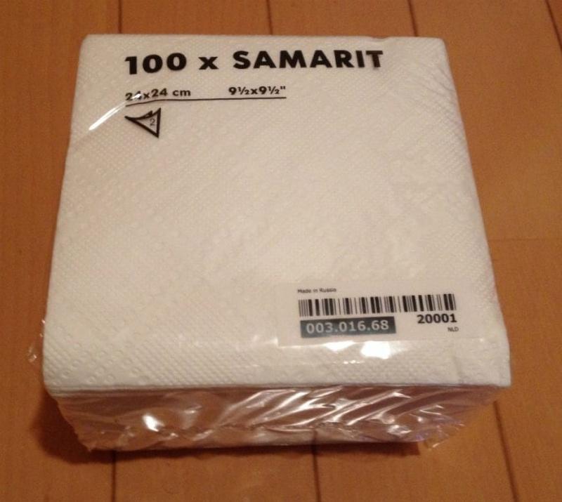 [2]が投稿したSAMARIT サンマリト ペーパーナプキンの写真