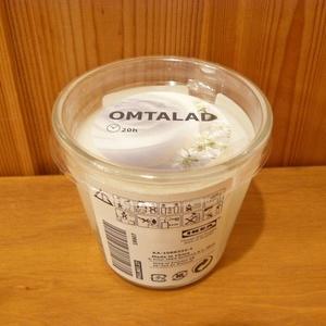 OMTALAD 香り付きキャンドル グラス入り