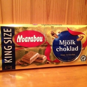 Marabou mjölk ミルクチョコレート