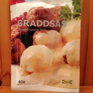 GRÄDDSÅS クリームソース ミックス